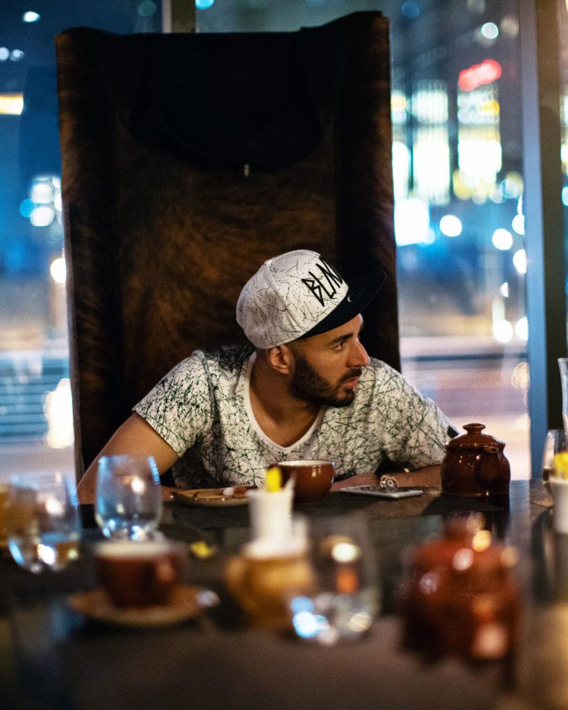 karim benzema, photographe et caméraman lyon